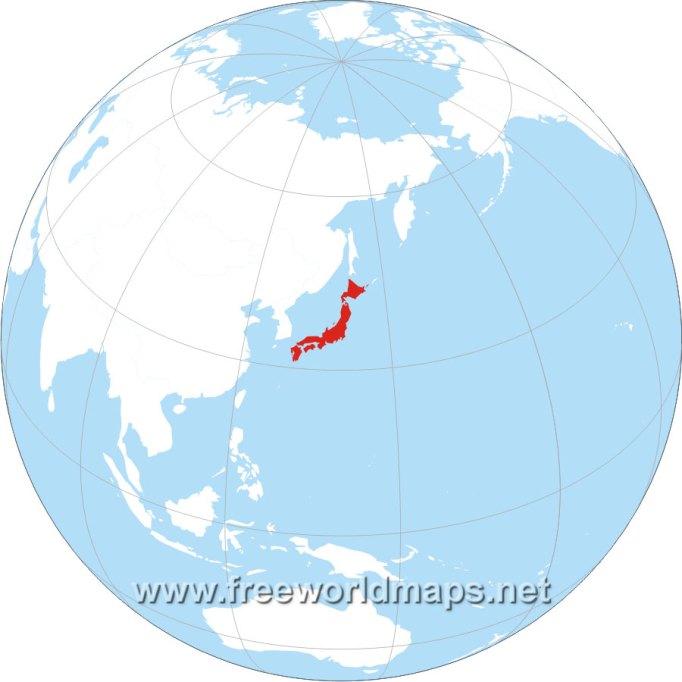 japan-globe